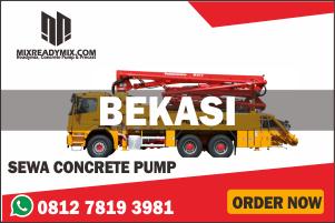 harga beton cor ready mix sewa pompa beton bekasi