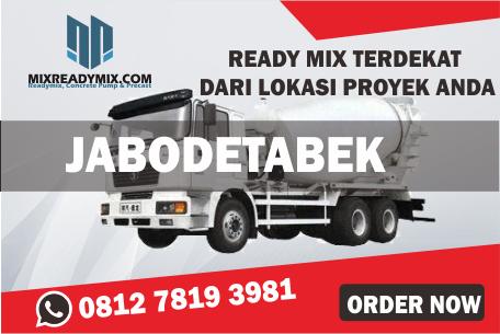 harga beton cor ready mix terbaru